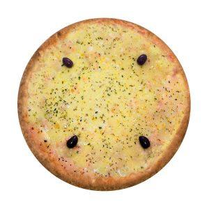 Pizzas com Queijo